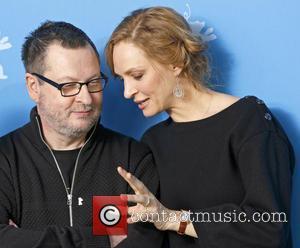 Lars Von Trier and Uma Thurman