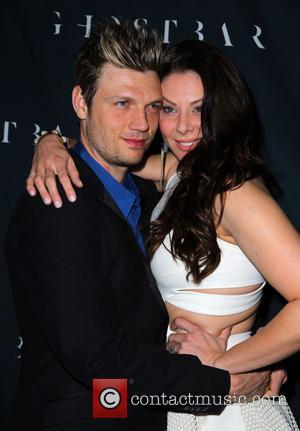Nick Carter and Lauren Kitt - Nick Carter and Lauren Kitt Celebrate Coed Bachelor and Bachelorette Party at Ghostbar Inside...