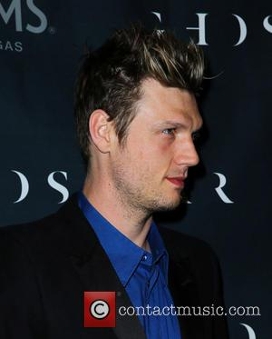 Nick Carter - Nick Carter and Lauren Kitt Celebrate Coed Bachelor and Bachelorette Party at Ghostbar Inside Palms Casino Resort...