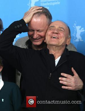 Stellan Skarsgard and Bruno Ganz - 64th Berlin International Film Festival (Berlinale) - 'In Order Of Disappearance' - Photocall -...