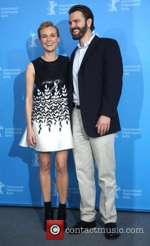 Diane Kruger and A.J. Edwards - 64th Berlin International Film Festival (Berlinale) - 'The Better Angels' - Photocall - Berlin,...