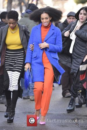 Solange Knowles - Solange Knowles at Fashion Week - Manhattan, New York, United States - Monday 10th February 2014