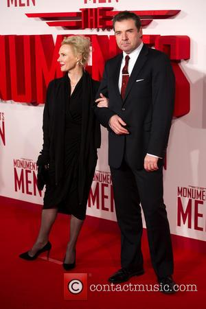 Brendan Coyle and Joy Harrison - U.K.premiere of 'The Monuments Men' held at the Odeon Leicester Square - Arrivals -...