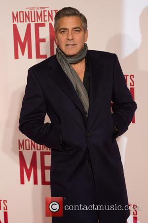 George Clooney Welcomes Real Monuments Men To Movie Premiere