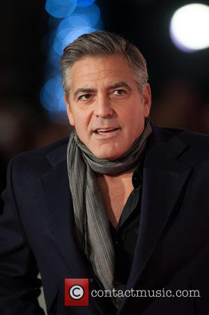 George Clooney - Monuments Men UK film premiere held at the Odeon Leicester Square - Arrivals. - London, United Kingdom...