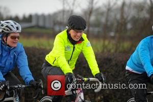 Davina McCall - BT Sport Relief Challenge: Davina - Beyond Breaking Point - Day 5. Davina is en route from...