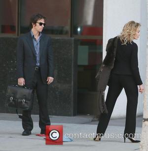 Mark Wahlberg and Jessica Lange - Mark wahlberg and Jessica Lange Film scenes for a film in Los Angeles -...