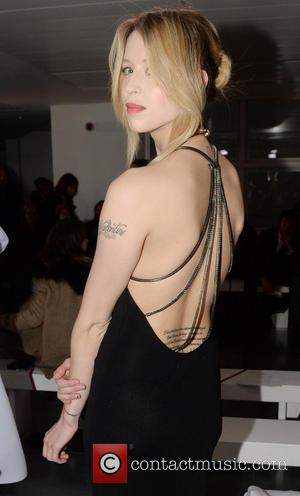 Peaches Geldof - London Fashion Week Autumn/Winter 2014