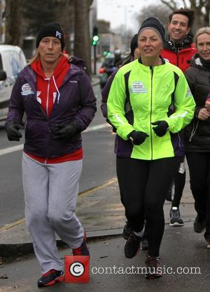 Davina McCall and Martina Navratilova - Davina McCall is joined by celebrity friends on the final day of her Sport...