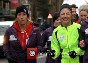 Davina McCall and Martina Navratilova - Davina McCall is joined by celebrity friends for her final leg of her 500...