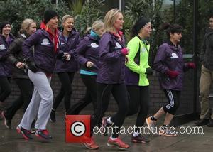 Davina McCall, Martina Navratilova, emma freud and jenni falconer - Davina McCall is joined by celebrity friends on the final...