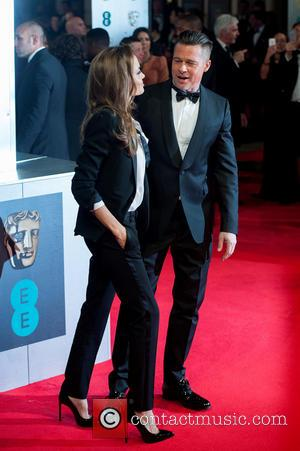 Angelina Jolie and Brad Pitt - EE British Academy Film Awards (BAFTA) held at the Royal Opera House - Arrivals....