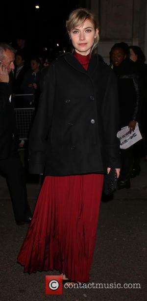 Imogen Poots - EE British Academy Film Awards (BAFTA) after party at Grosvenor House - Arrivals - London, United Kingdom...