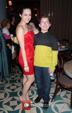 Hayley Orrantia and Sean Giambrone - 'The Goldbergs' star Hayley Orrantia celebrates her birthday during jazz night at The W...