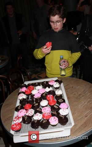 Sean Giambrone - 'The Goldbergs' star Hayley Orrantia celebrates her birthday during jazz night at The W Hotel in Hollywood....