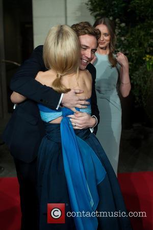 Gillian Anderson, Grosvenor House, BAFTA, Sam Claflin, Laura Haddock