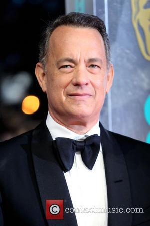 Tom Hanks - British Academy Film Awards (BAFTA) 2014 held at the Royal Opera House - Arrivals - London, United...