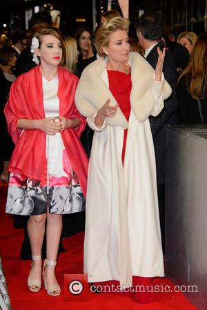 Emma Thompson - EE British Academy Film Awards (BAFTA) 2014 held at the Royal Opera House - Arrivals - London,...