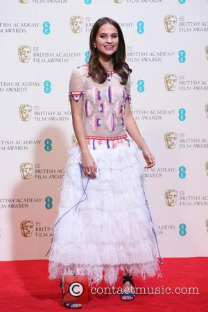 Alicia Vikander - British Academy Film Awards (BAFTA) 2014 held at the Royal Opera House - Press Room - London,...