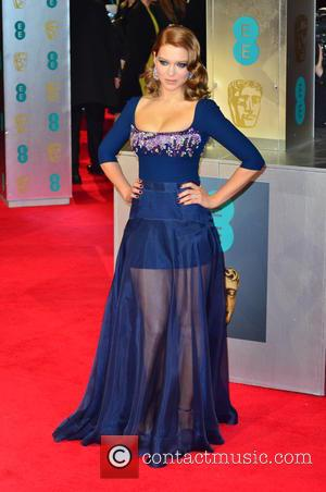 Lea Seydoux - EE British Academy Film Awards (BAFTA) 2014 held at the Royal Opera House - Arrivals - London,...