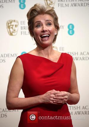 Emma Thompson - British Academy Film Awards (BAFTA) 2014 held at the Royal Opera House - Press Room - London,...