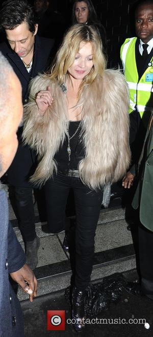 Kate Moss - Celebrities leave Ronnie Scotts after watching Prince perform - London, United Kingdom - Tuesday 18th February 2014