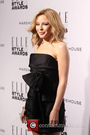 Kylie Minogue - Elle Style Awards 2014 held at One Embankment - Arrivals - London, United Kingdom - Tuesday 18th...