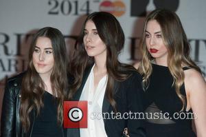 Haim, Danielle Haim, Este Haim and Alana Haim - The 2014 Master Card Brit Awards held at the O2 -...