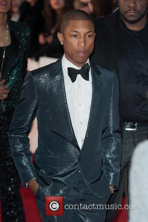 Pharrell Williams - The 2014 Master Card Brit Awards held at the O2 - Arrivals. - London, United Kingdom -...