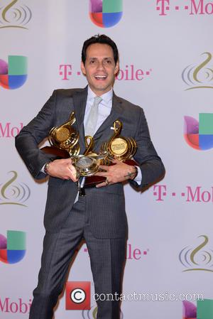 Marc Anthony Cleans Up At The Billboard Latin Music Awards, Will He Be So Lucky At The 2014 Grammys?