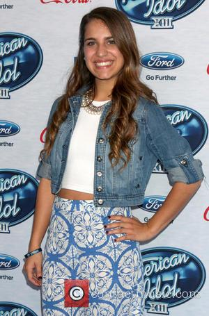Emily Piriz - American Idol Season 13 finalists party held at Fig & Olive in West Holywood - Arrivals -...