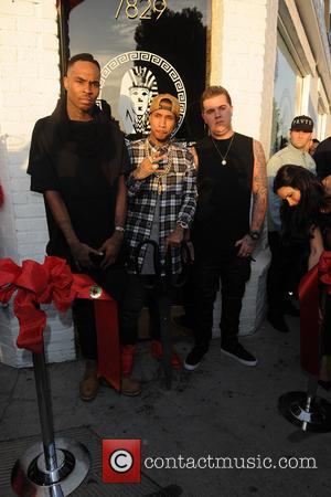 TYGA - Grand Opening of Last Kings flagship store - Los Angeles, California, United States - Thursday 20th February 2014