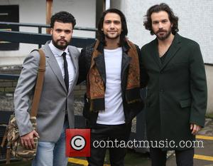 Luke Pasqualino, Santiago Cabrera and Howard Charles