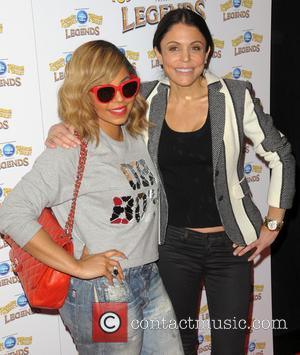 Ashanti and Bethenny Frankel -