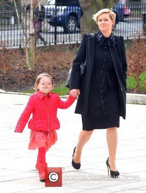 Cecelia Ahern - The Christening of Nicky Byrne's daughter Gia at Saint Sylvester Roman Catholic Church - Dublin, Ireland -...