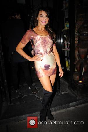 Lizzie Cundy - PETA host a fur free night at Mahiki - Outside Arrivals - London, United Kingdom - Thursday...