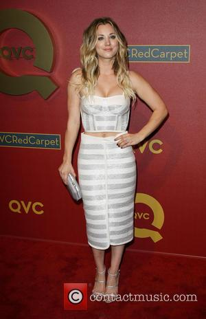 Kaley Cuoco Joins Husband On Tennis Court For Charity Match