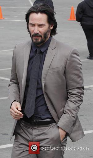 Keanu Reeves - 2014 Film Independent Spirit Awards - Outside Arrivals - Santa Monica, California, United States - Saturday 1st...