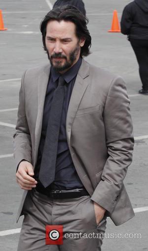 Keanu Reeves - 2014 Film Independent Spirit Awards - Outside Arrivals - Santa Monica, California, United States - Saturday 1st...