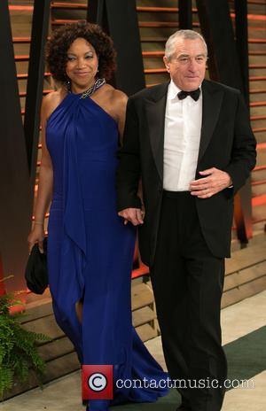 Robert De Niro and Grace Hightower - Celebrities attend 2013 Vanity Fair Oscar Party at Sunset Plaza. - Los Angeles,...