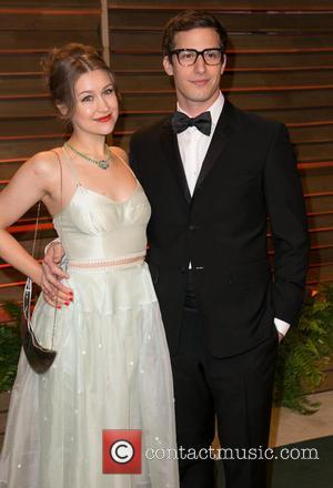 Andy Samberg and Joanna Newsom - Celebrities attend 2013 Vanity Fair Oscar Party at Sunset Plaza. - Los Angeles, California,...