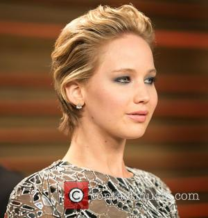 Jennifer Lawrence - Celebrities attend 2013 Vanity Fair Oscar Party at Sunset Plaza. - Los Angeles, California, United States -...