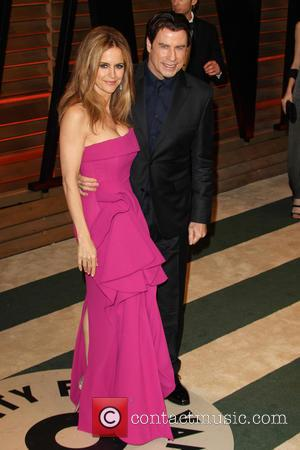 Kelly Preston and John Travolta - 2014 Vanity Fair Oscar Party in West Hollywood - West Hollywood, California, United States - Sunday...