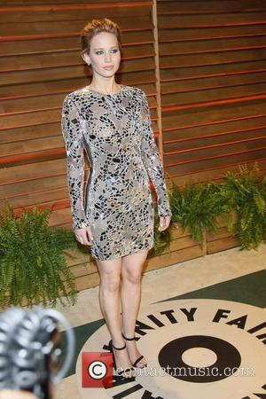 Jennifer Lawrence - Vanity Fair Oscar Party - Arrivals - Los Angeles, California, United States - Sunday 2nd March 2014