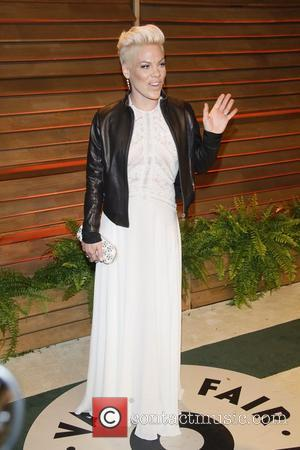 Pink - Vanity Fair Oscar Party - Arrivals - Los Angeles, California, United States - Sunday 2nd March 2014