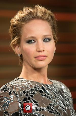 Jennifer Lawrence - Celebrities attend 2014 Vanity Fair Oscar Party at Sunset Plaza. - Los Angeles, California, United States -...