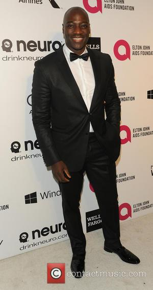 Adewale Akinnuoye - 22nd Annual Elton John AIDS Foundation Academy Awards Viewing/After Party - Arrivals - West Hollywood, California, United...