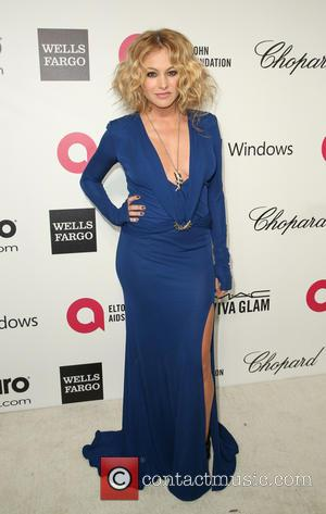 Paulina Rubio - Elton John AIDS Foundation Oscar Party Arrivals at the Pacific Design Center in West Hollywood, California. -...