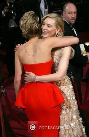 Jennifer Lawrence and Cate Blanchett
