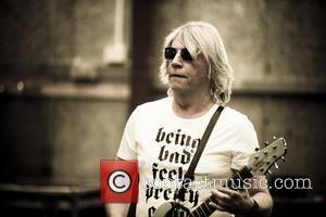 Status Quo , Rick Parfitt - EXCLUSIVE The original line-up of Status Quo rehearse at Shepperton Studios for the last...